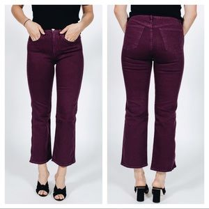 NEW 3x1 Shelter Wide-Leg cropped jeans